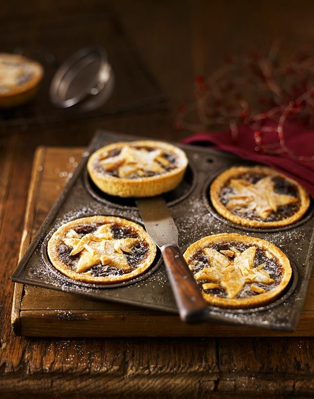 Star-Mince-Pies-food-and-drink-photographer-Stuart-west-photography-London